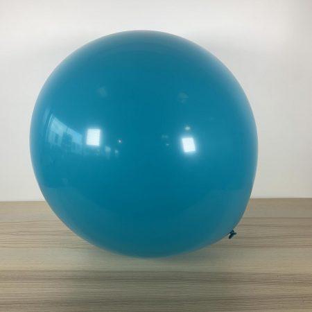 Ballon 60cm Turquoise Gonflé