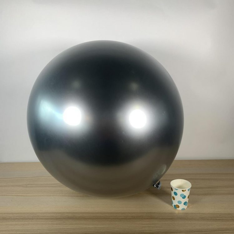 Ballon géant 60cm Argent Brillant