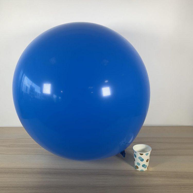 Ballon géant 60cm Bleu Roi