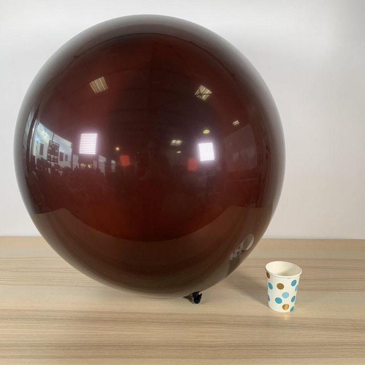 Ballon géant 60cm Chocolat
