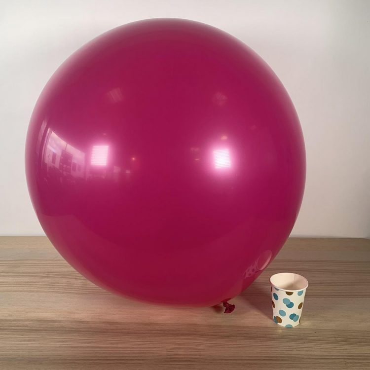 Ballon Géant 60cm Fushia