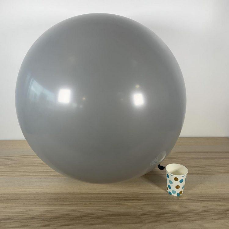 Ballon géant 60cm Gris