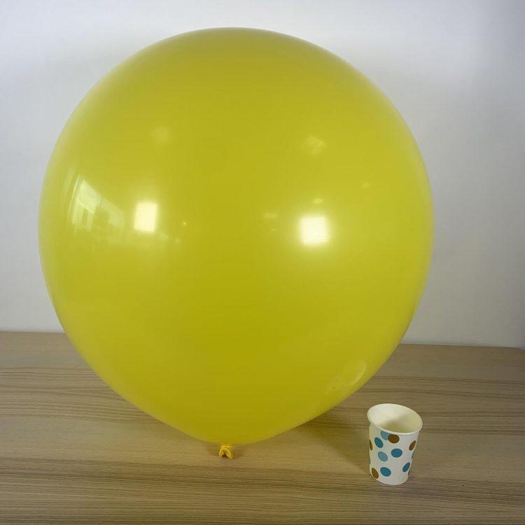 Ballon géant 60cm Jaune Citron