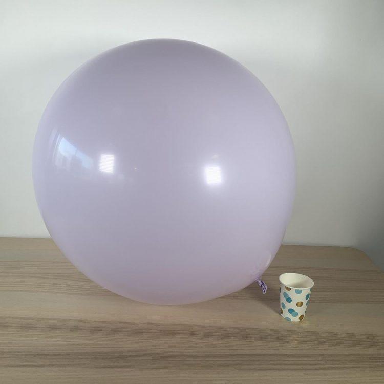 Ballon géant 60cm Pastel lavande