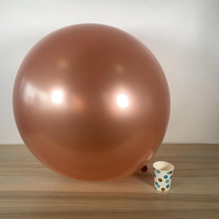Ballon géant 60cm Rose Gold Métal