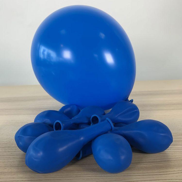 Ballons 30cm Bleu Roi Gonflés
