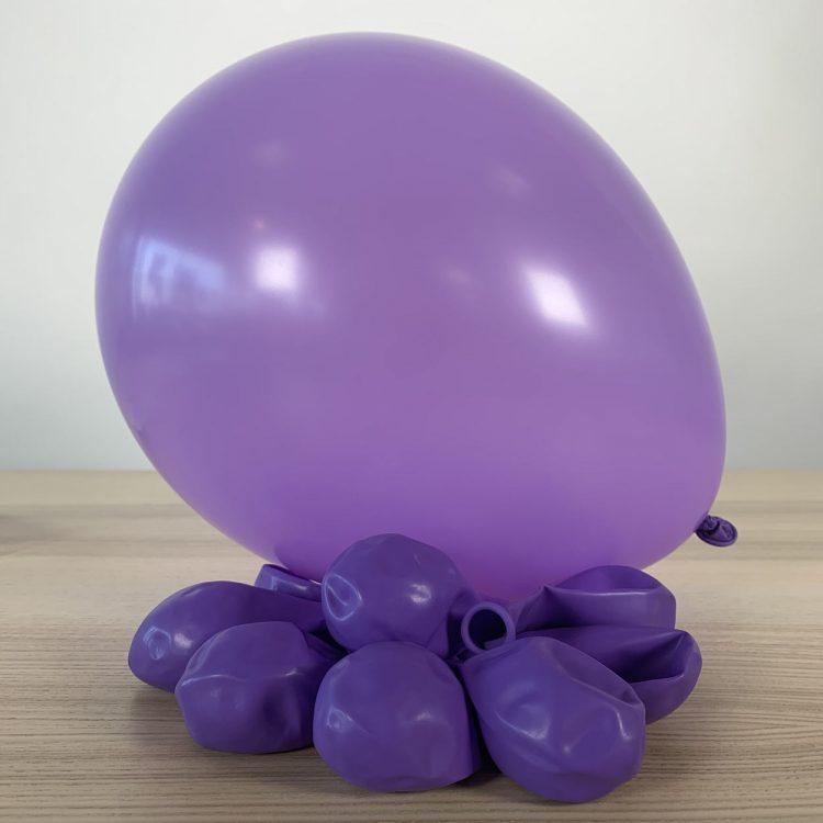 Ballons 30cm Lilas Gonflés