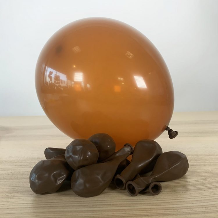 Ballons 30cm Marron