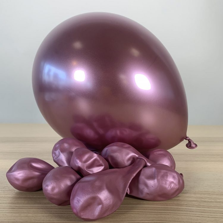 Ballons 30cm Mauve Brillant