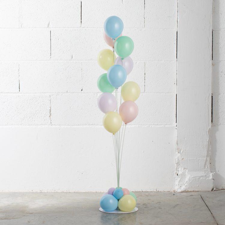 Bouquet de Ballons 11 Tiges Pastel