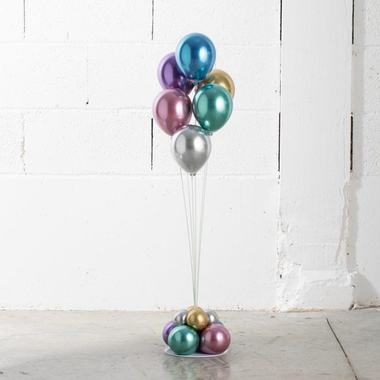 Structure Bouquet de ballons 6 tiges Métal