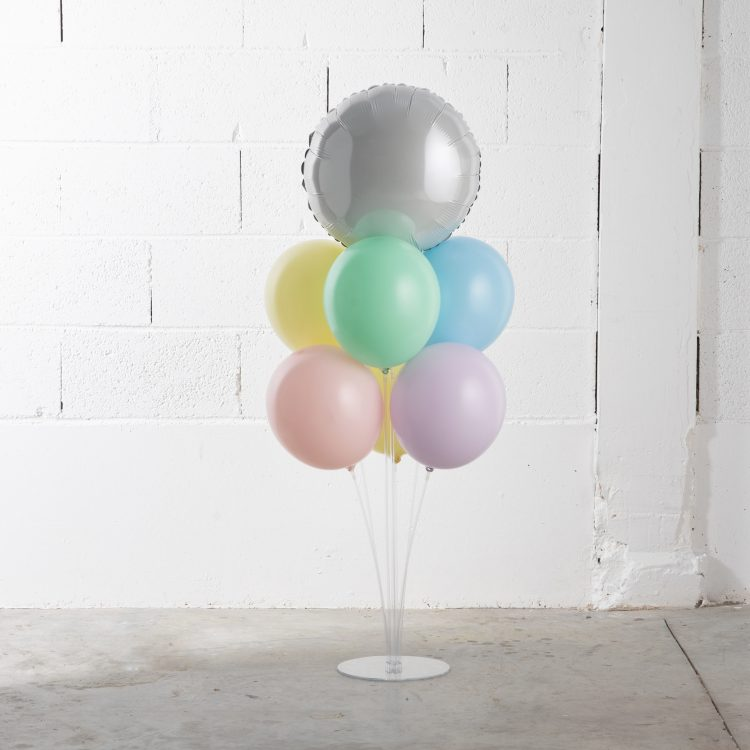 Bouquet de Ballons 7 Tiges Pastel