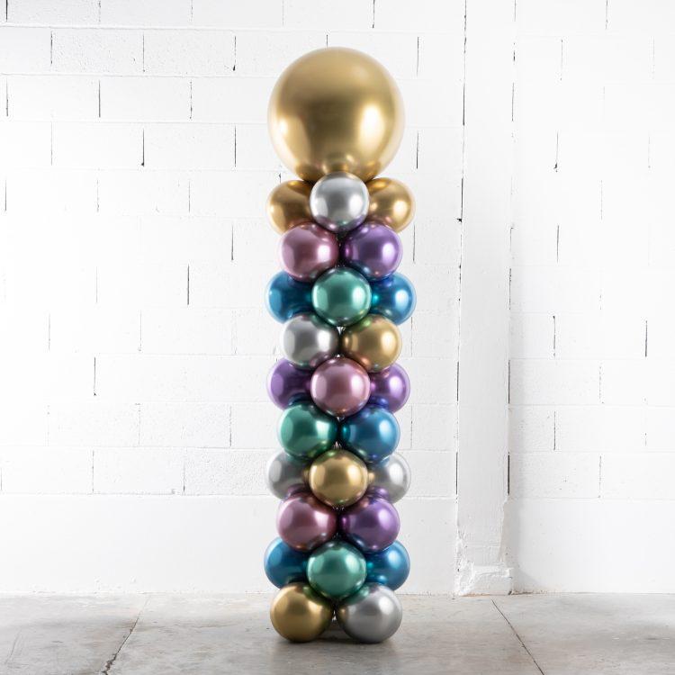 Structure colonne de ballons Metal