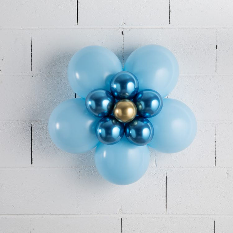 Fleur en ballons Bleu