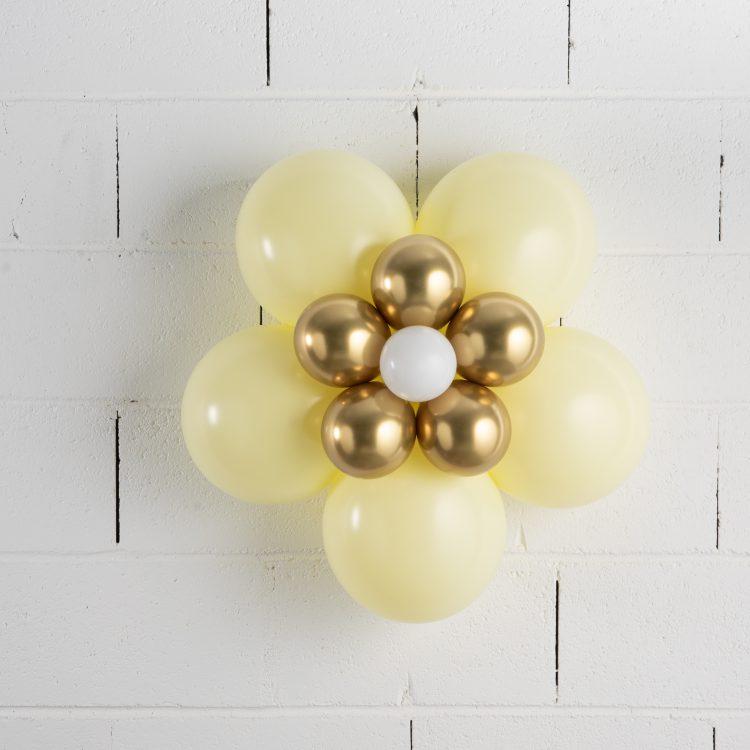 Fleur en ballons Jaune