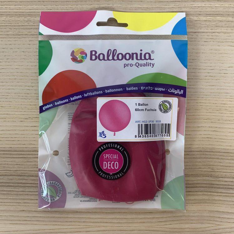 Pochette Ballon 60cm Fushia