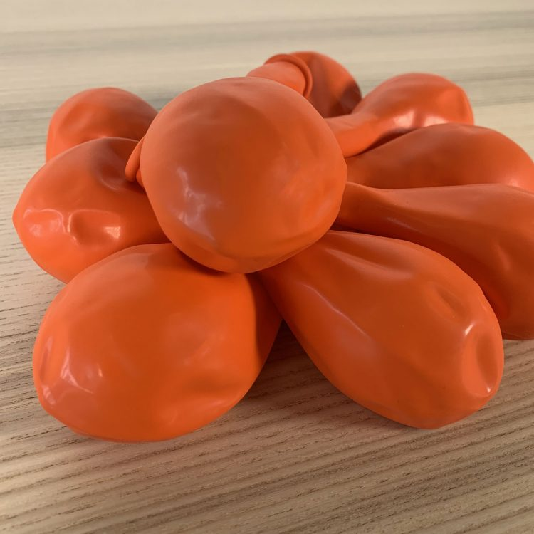 Lot Ballons 30cm Orange