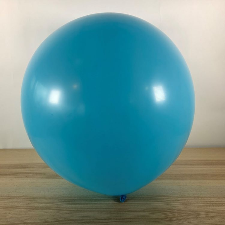 Ballon 60cm Bleu Ciel Gonflé