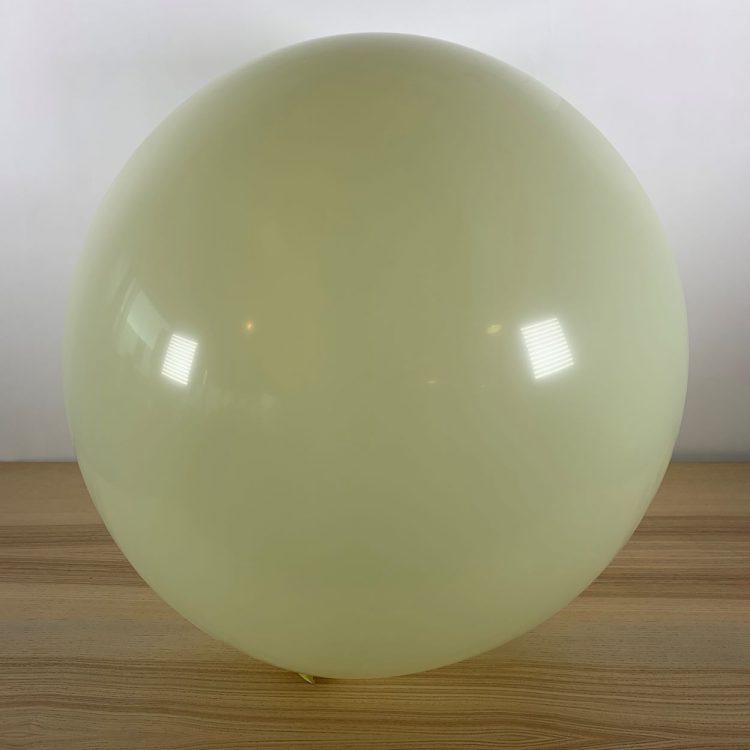 Ballon 60cm Ivoire Gonflé