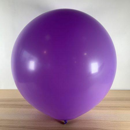 Ballon 60cm Lilas Gonflé