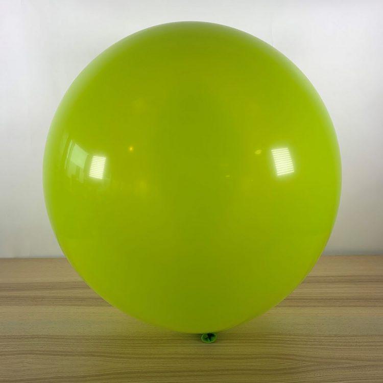 Ballon 60cm Limette Gonflé