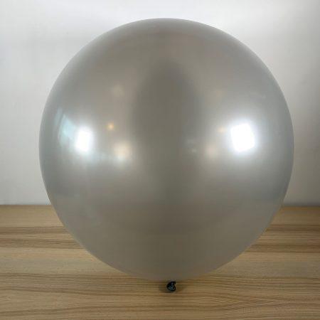 Ballon 60cm Métal Argent Gonflé