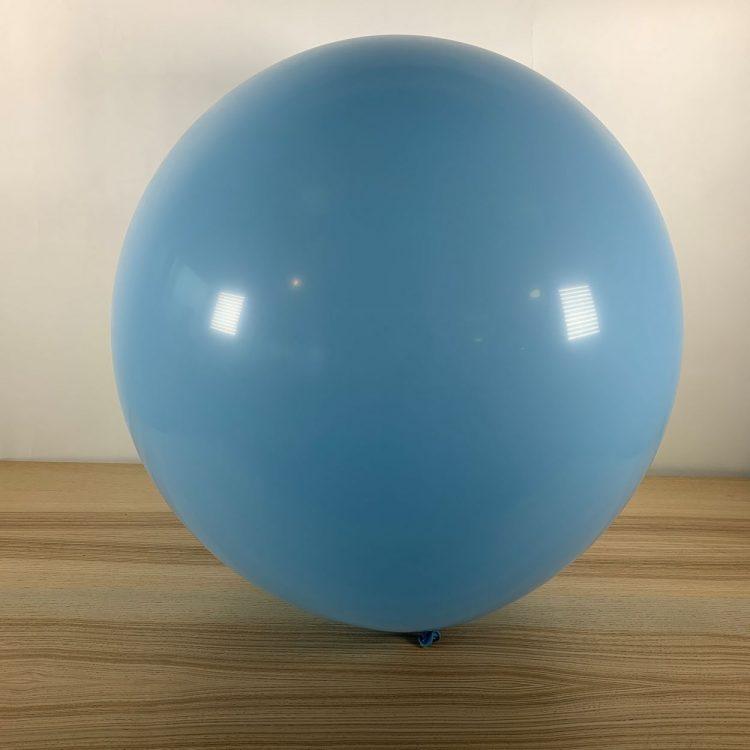 Ballon 60cm Pastel Ciel Gonflé