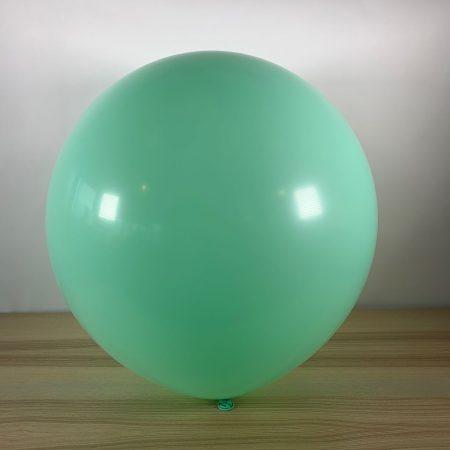 Ballon 60cm Pastel Menthe Gonflé