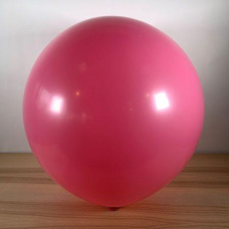 Ballon 60cm Rose Gonflé