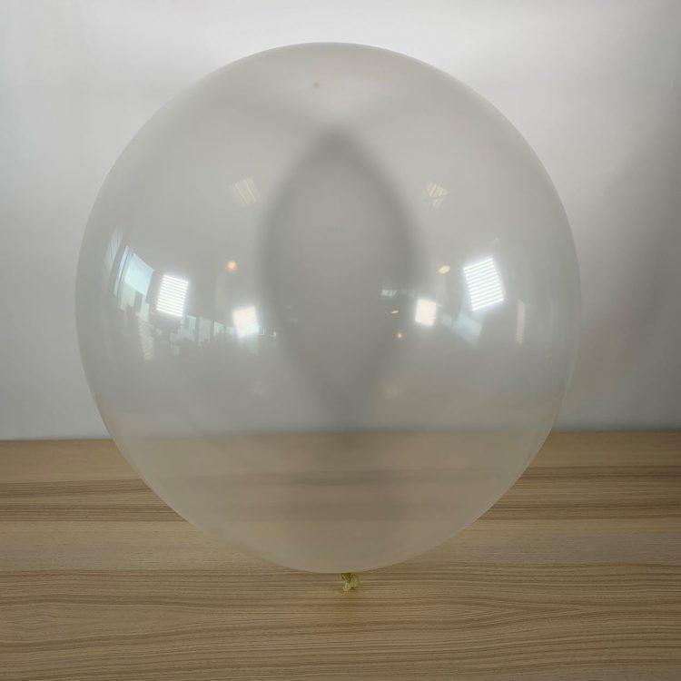Ballon 60cm Transparent Gonflé