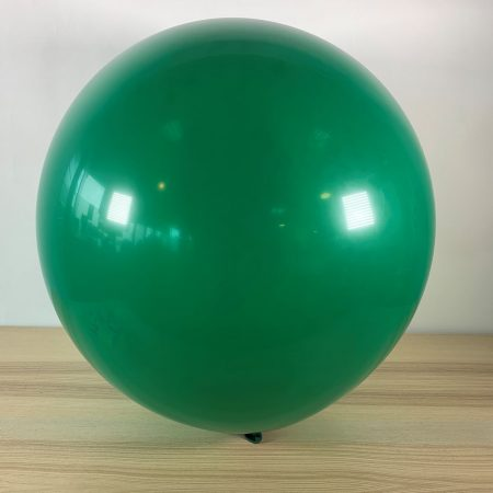 Ballon 60cm Vert Forêt Gonflé