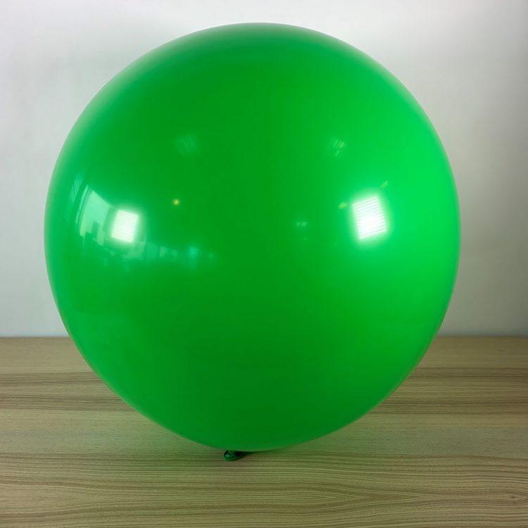 Ballon 60cm Vert Gonflé