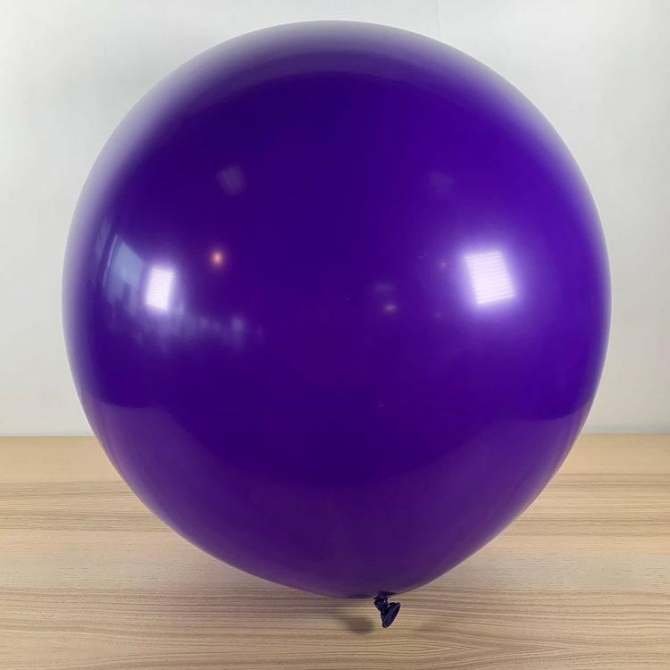 Ballon 60cm Violet Gonflé