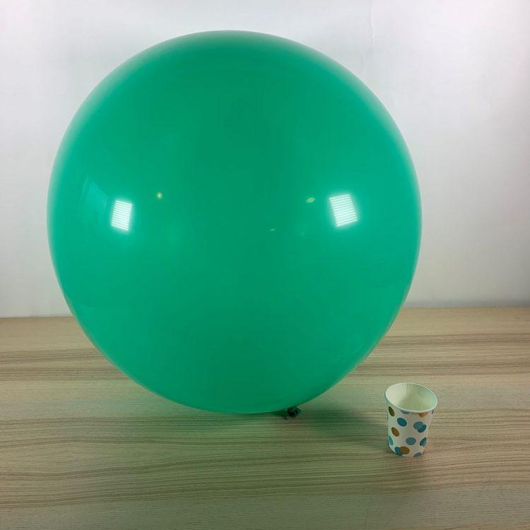 Ballon géant 60cm Menthe