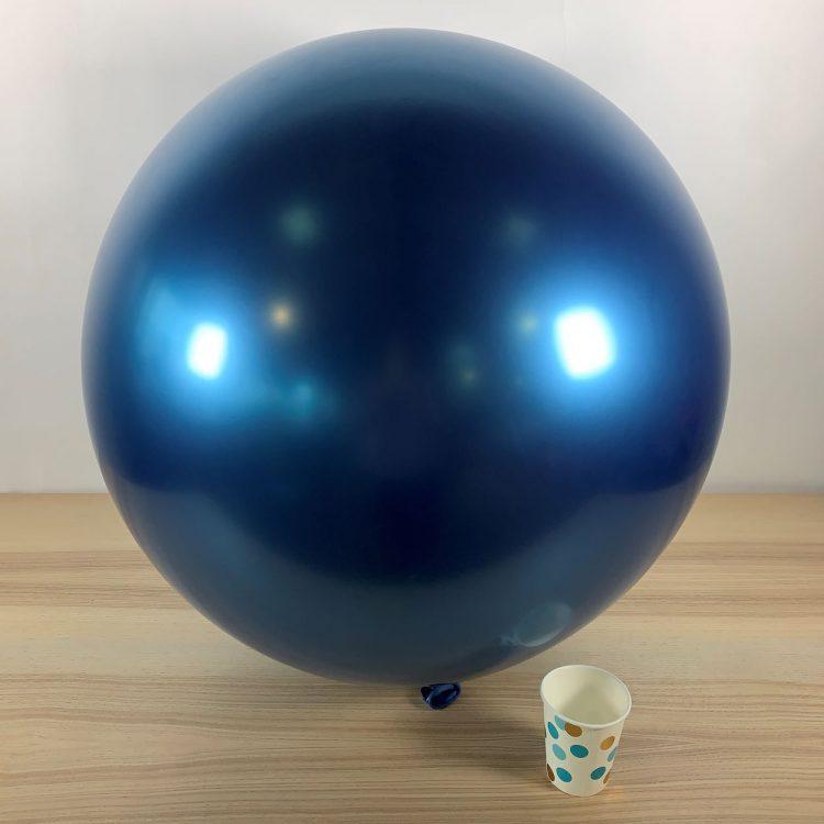 Ballon géant 60cm Bleu Brillant