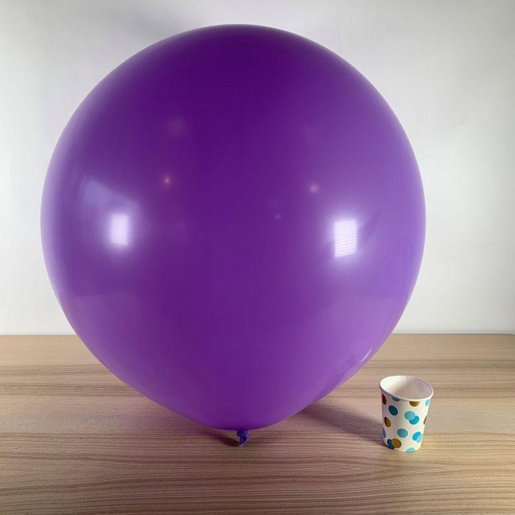 Ballon géant 60cm Lilas