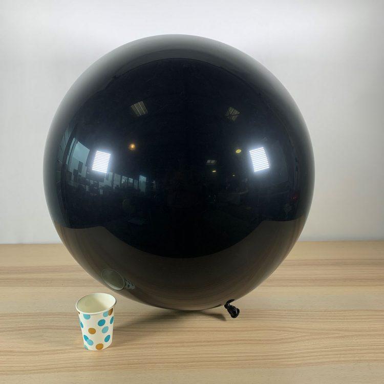 Ballon géant 60cm Noir