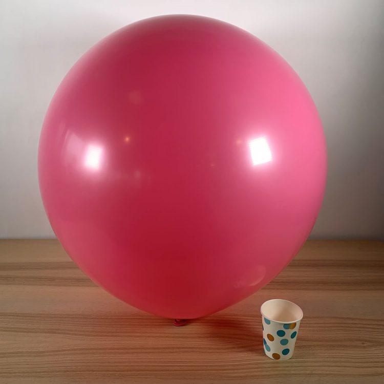 Ballon géant 60cm Rose