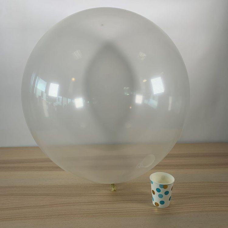 Ballon géant 60cm Transparent