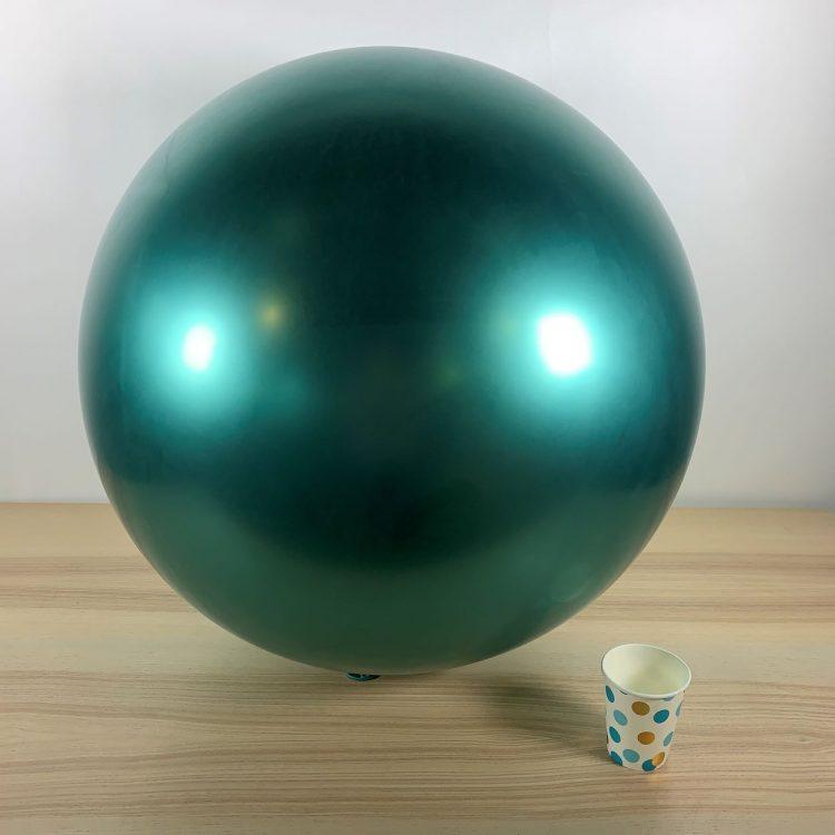 Ballon géant 60cm Vert Brillant