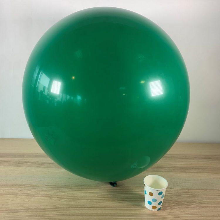 Ballon géant 60cm Vert forêt