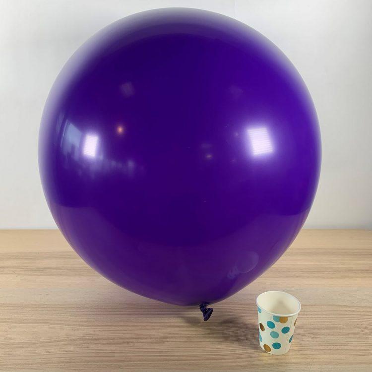 Ballon géant 60cm Violet