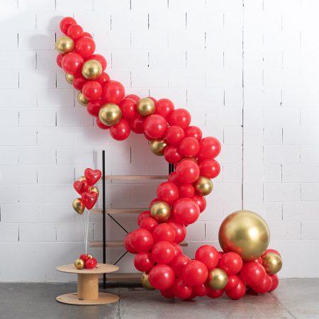 Guirlande Ballons Organique Kit à Faire Soi-même DIY