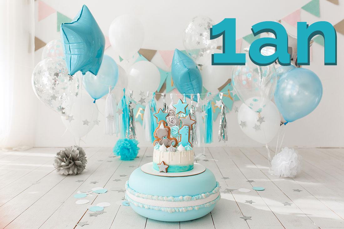 ballon anniversaire 1 an