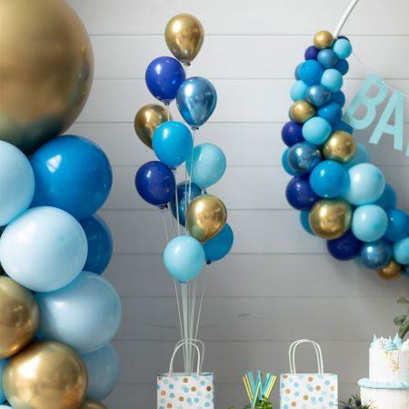 bouquet de ballons livrés gonflés à l'air 11 tiges
